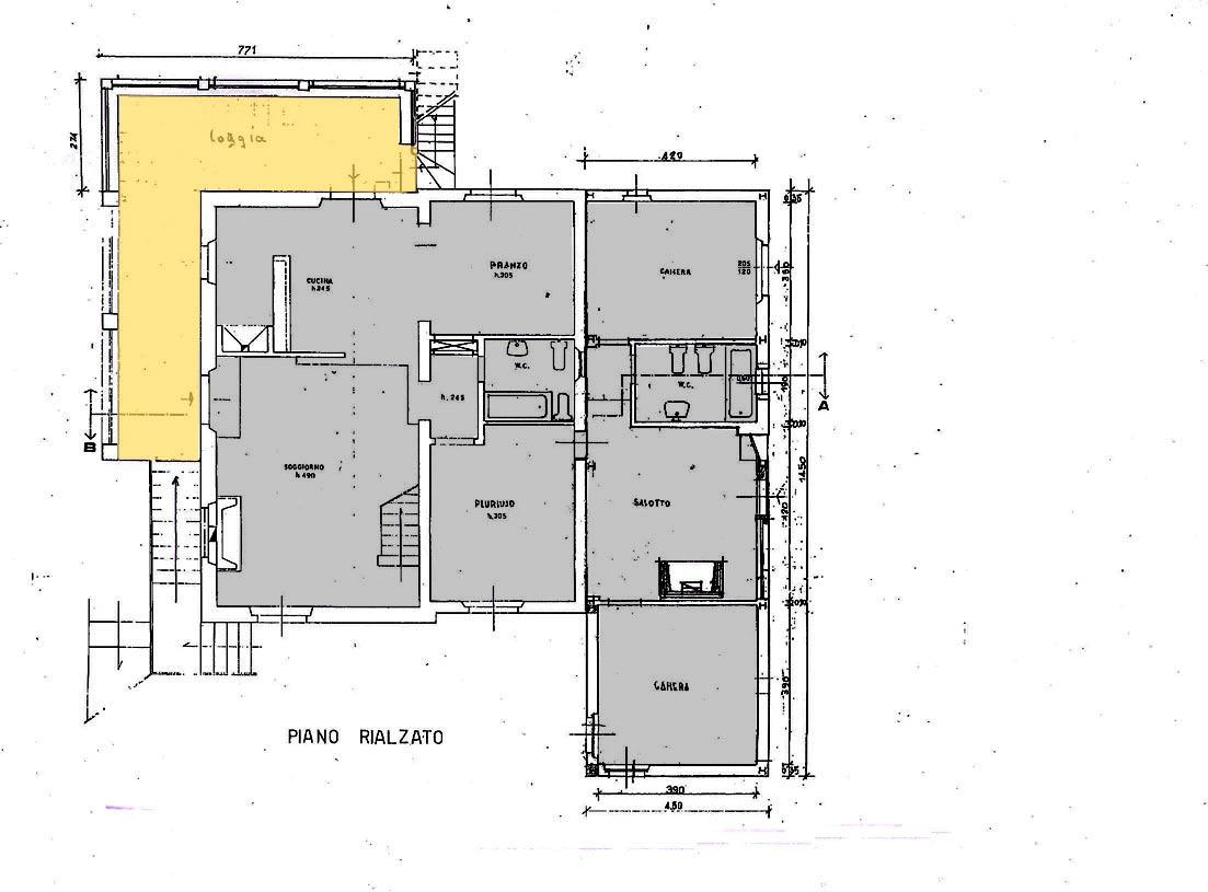 Dimore senesi immobiliare vendita e affitto immobili in for Planimetrie al piano di sopra